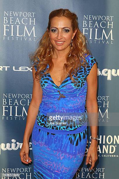 Elika Portnoy arrives at the 13th Annual Newport Film Festival Opening Night Premiere Jewtopia at Edwards Big Newport on April 26 2012 in Newport...