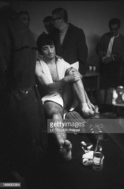 Eliminating Session Of Soccer World Cup FranceSweden 02 Le 16 octobre 1969 la France battue par la Suède 02 au stade Gerland à Lyon le capitaine...