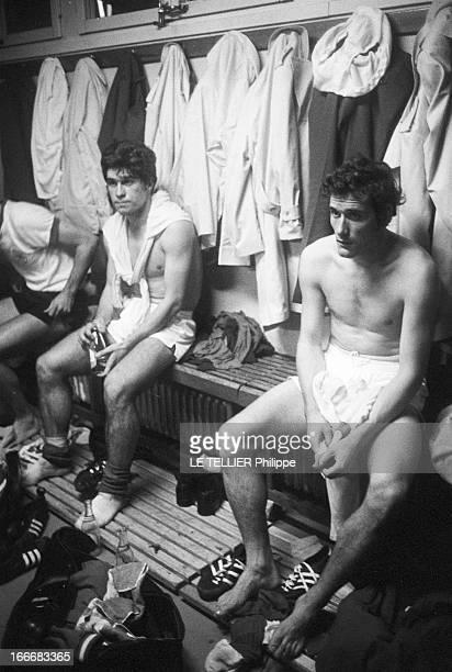 Eliminating Session Of Soccer World Cup FranceSweden 02 Le 16 octobre 1969 la France battue par la Suède 02 au stade Gerland à Lyon Jacques NOVI et...