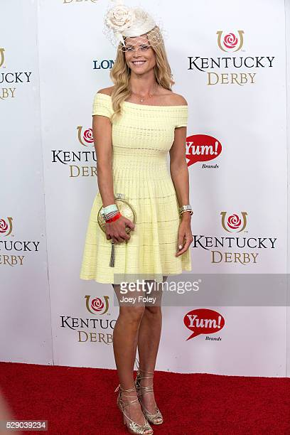 Elin Nordegren attends the 142nd Kentucky Derby at Churchill Downs on May 07 2016 in Louisville Kentucky