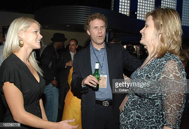 Elin Nordegren Will Ferrell and Vivica Paulin