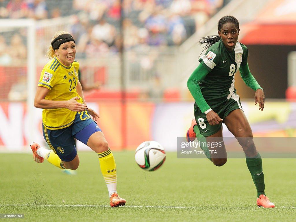 Sweden vs Nigeria: Group D - FIFA Women's World Cup 2015 : News Photo