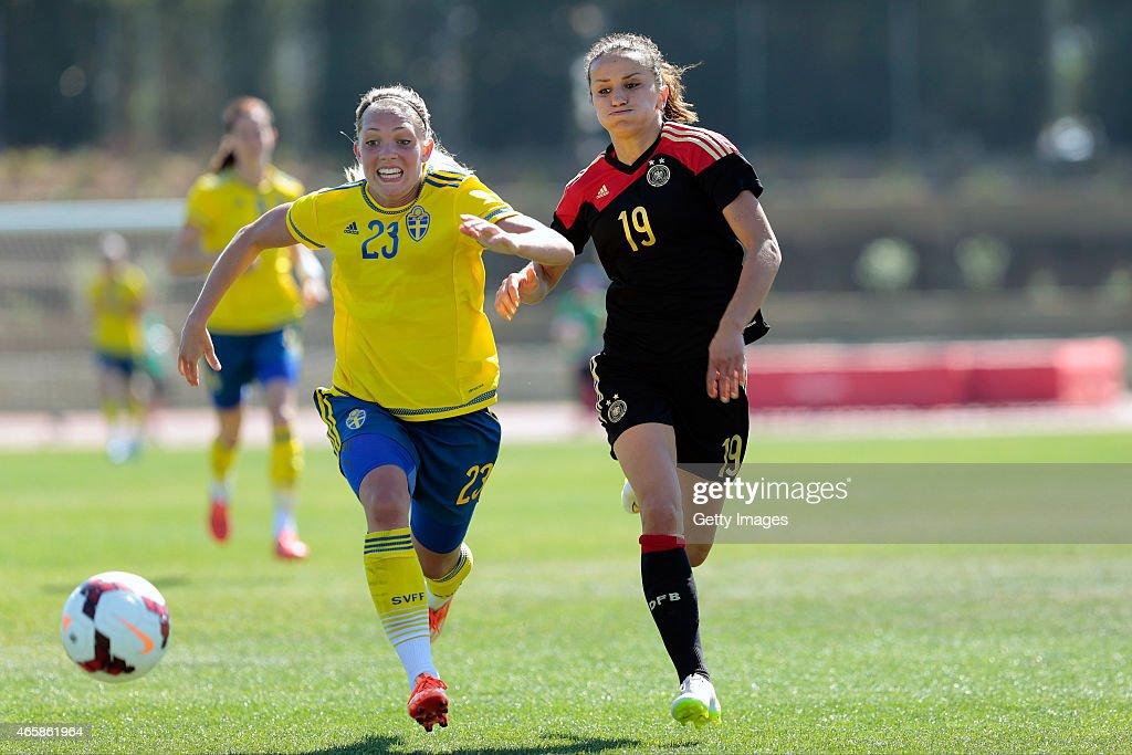 Sweden v Germany - Women's Algarve Cup 2015 3rd Place Match
