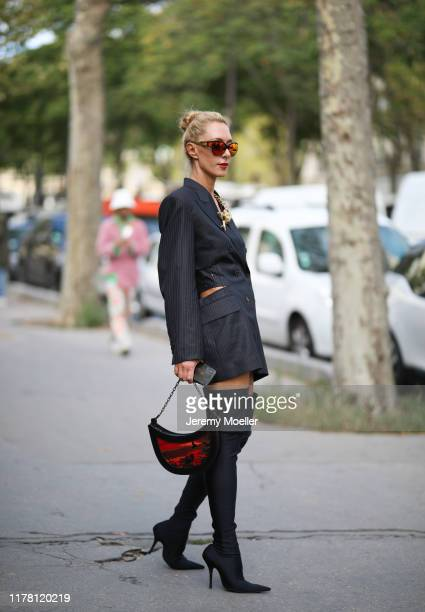 Elina Halimi on September 28, 2019 in Paris, France.