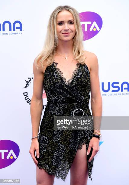 Elina Svitolina attending the annual WTA's Tennis on the Thames Party held at the Bernie Spain Gardens South Bank London