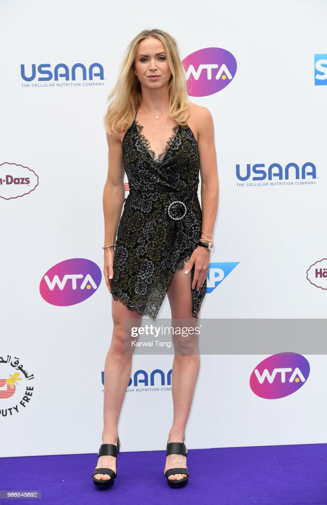 The WTA's 'Tennis On The Thames' Evening Reception - Arrivals : News Photo