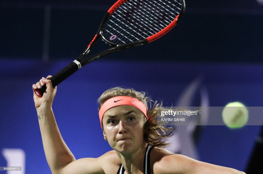 TENNIS-WTA-UAE : News Photo