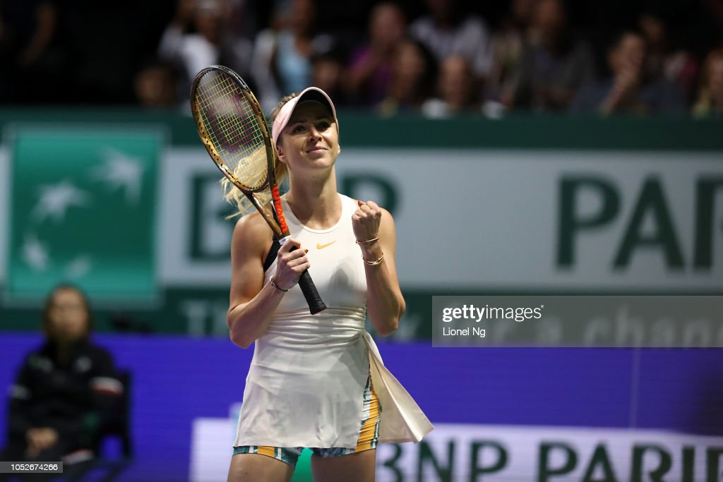 BNP Paribas WTA Finals Singapore presented by SC Global - Day 1 : News Photo