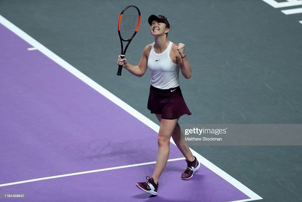 2019 WTA Finals - Day Four : News Photo