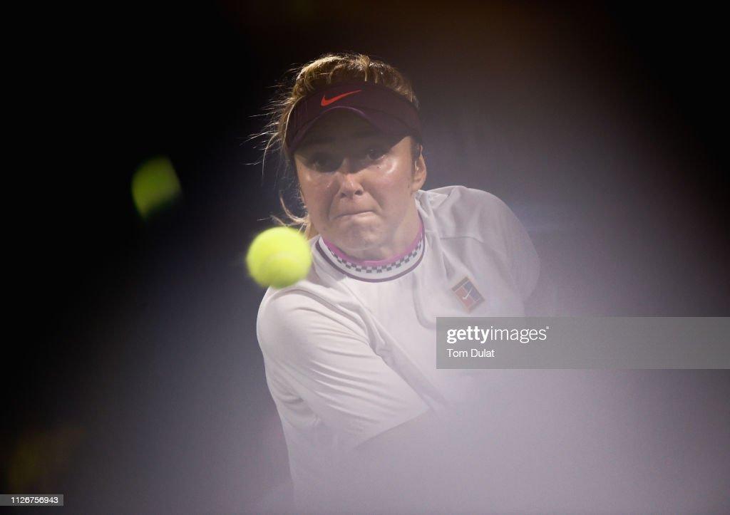 Dubai Duty Free Tennis Championships - Day Six : News Photo