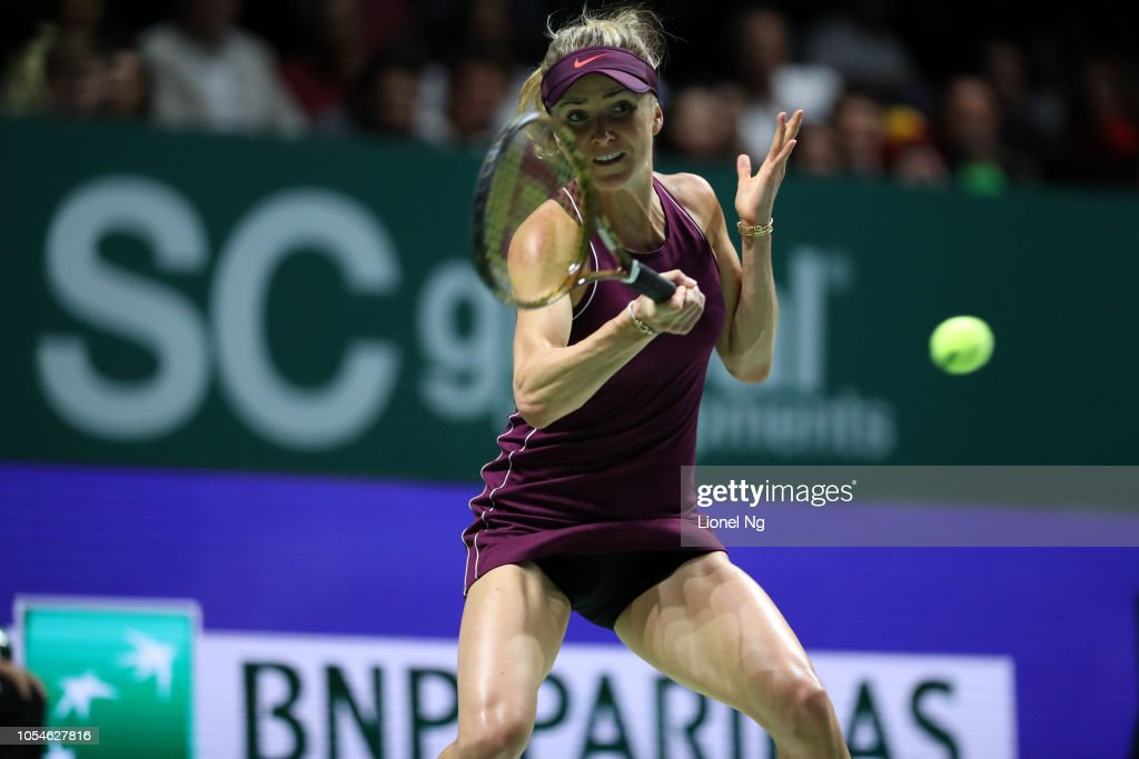 BNP Paribas WTA Finals Singapore presented by SC Global - Day 8 : News Photo