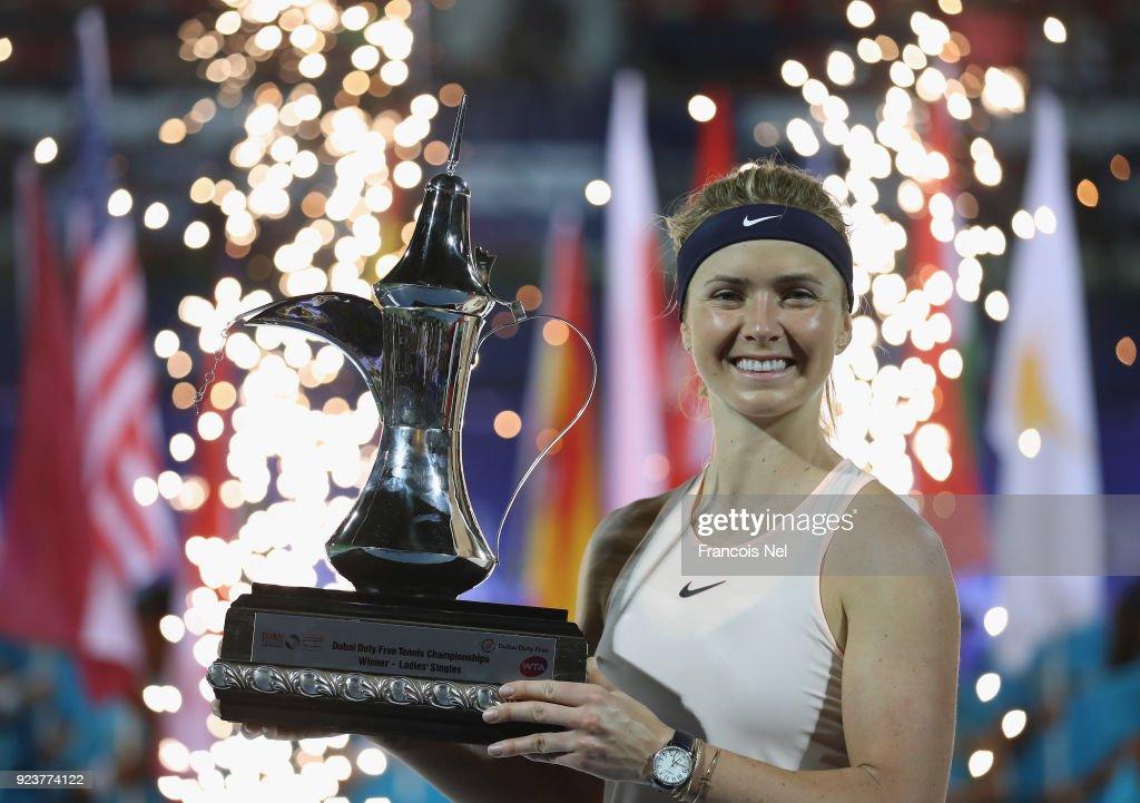 WTA Dubai Duty Free Tennis  Championship - Day Six : News Photo