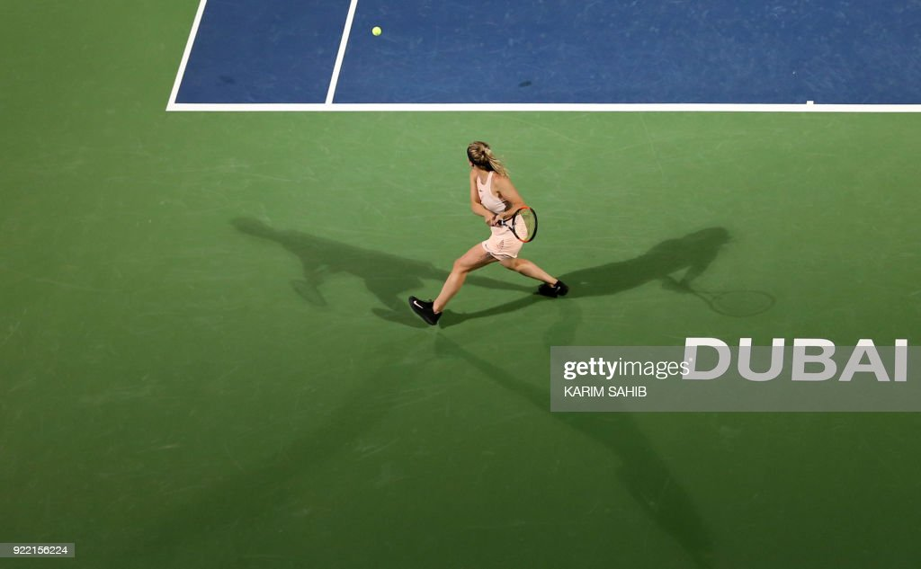 TENNIS-WTA-DUBAI : News Photo