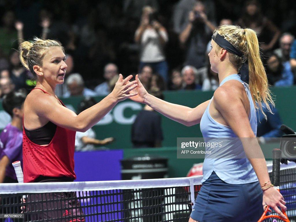 TENNIS-SIN-WTA : News Photo