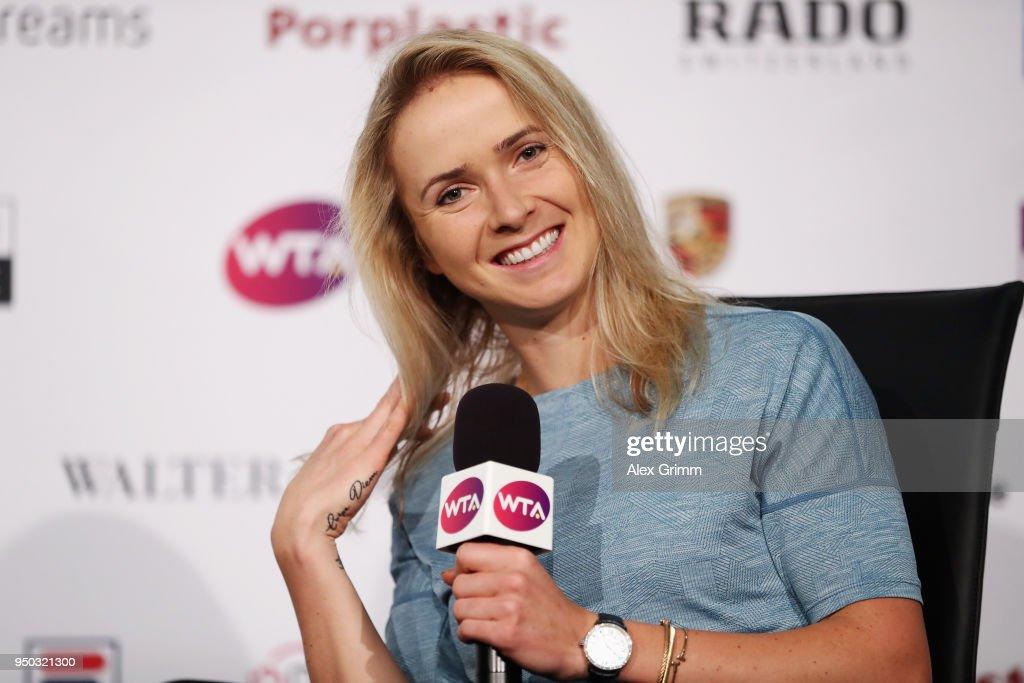 Porsche Tennis Grand Prix Stuttgart - Day 1 : News Photo