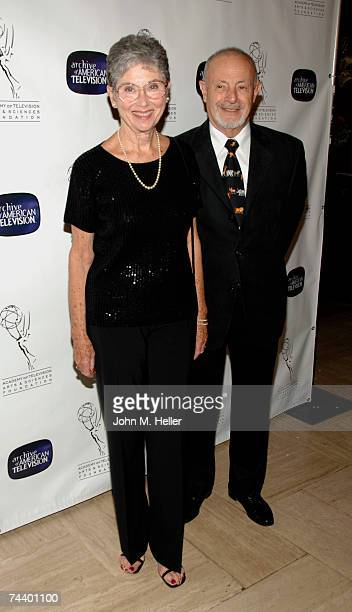Elinor Donahue attends the The Academy of Television Arts Sciences 10th Anniversary Celebration of The Archive Of American Television at Crustacean...