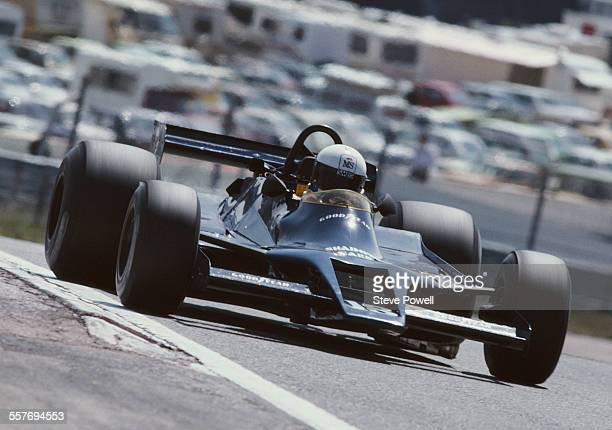 Elio de Angelis of Italy drives the Interscope Shadow Racing Team Shadow Ford DN9 Cosworth V8 during the Spanish Grand Prix on 29 April 1979 at the...