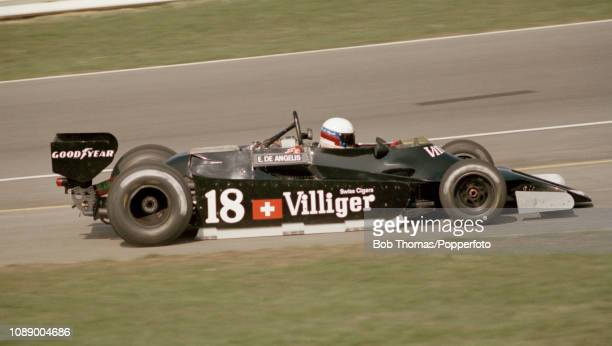 Elio de Angelis of Italy driving the Shadow DN9B during the Race of Champions at the Brands Hatch circuit in Fawkham England on April 15 1979