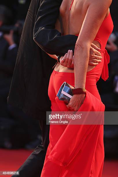 Elio Fiorucci and guest attend 'Good Kill' Premiere during the 71st Venice Film Festival on September 5 2014 in Venice Italy