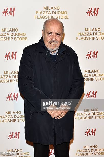 Elio Fiorucci attends HM New Store Opening on December 10 2014 in Milan Italy