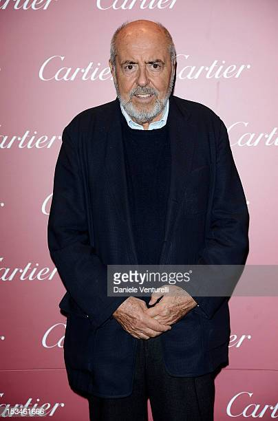Elio Fiorucci attends the Cartier Boutique reopening cocktail party on October 5 2012 in Milan Italy
