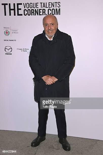 Elio Fiorucci attends the Vogue Talent's Cornercom on February 25 2015 in Milan Italy