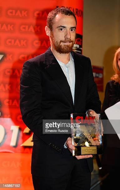 Elio Germano attends 2012 Ciak d'Oro ceremony awards at Palazzo Valentini on June 6 2012 in Rome Italy
