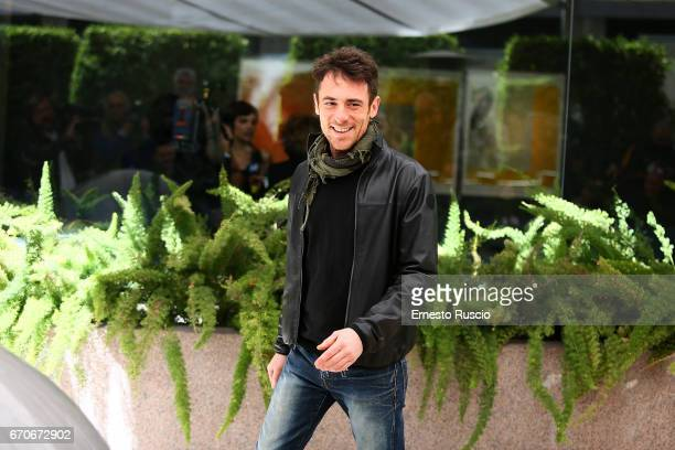 Elio Germano attends a photocall for 'La Tenerezza' at hotel Visconti Palace on April 20 2017 in Rome Italy