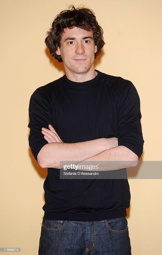 Elio Germano attends 'La Fine E' Il Mio Inizio' Milan Photocall held at Cinema Anteo on March 28, 2011 in Milan, Italy.
