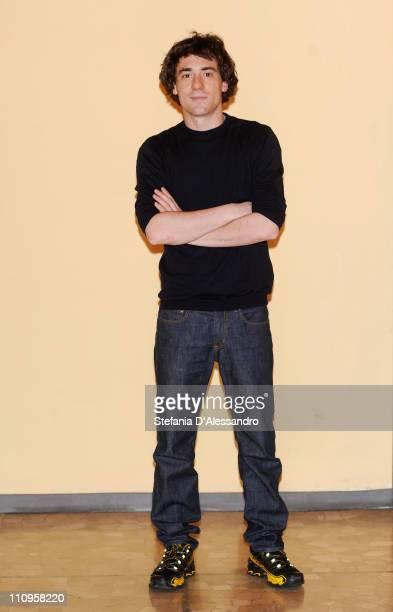 Elio Germano attends La Fine E' Il Mio Inizio Milan Photocall held at Cinema Anteo on March 28 2011 in Milan Italy
