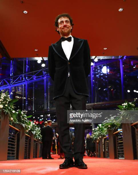 Elio Germano attends the award ceremony of 70th Berlinale International Film Festival in Berlin Germany on February 29 2020