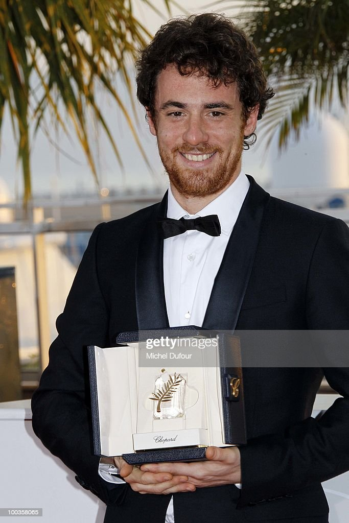 Elio Germano attends the Palme d'Or Award Photocall held at the Palais des Festivals during the 63rd Annual Cannes Film Festival on May 23, 2010 in Cannes, France.