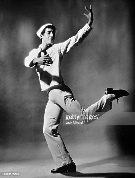 Eliot Feld performing Fancy Free in 1965.