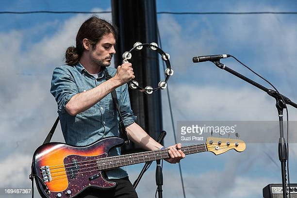 Eliot Lorango of Sea Wolf performs live at the Sasquatch Music Festival at The Gorge on May 24 2013 in George Washington