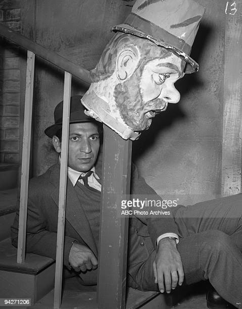 """Eliot Ness and his men go to a local carnival to intercede in an impending drug trade during """"Tunnel of Horrors"""" which aired on October 26, 1961...."""