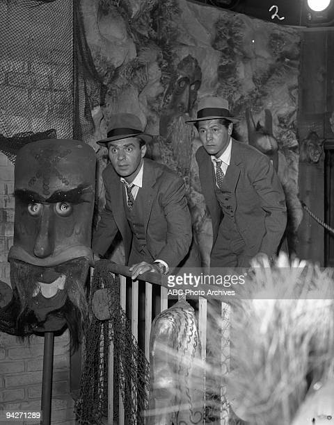 THE UNTOUCHABLES Eliot Ness and his men go to a local carnival to intercede in an impending drug trade during Tunnel of Horrors which aired on...