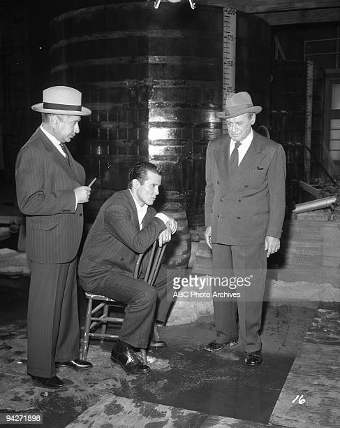 THE UNTOUCHABLES Eliot Ness and his team work to shut down the drug trafficing in Chicago during The Mark of Cain which aired on November 17 1960 WILL