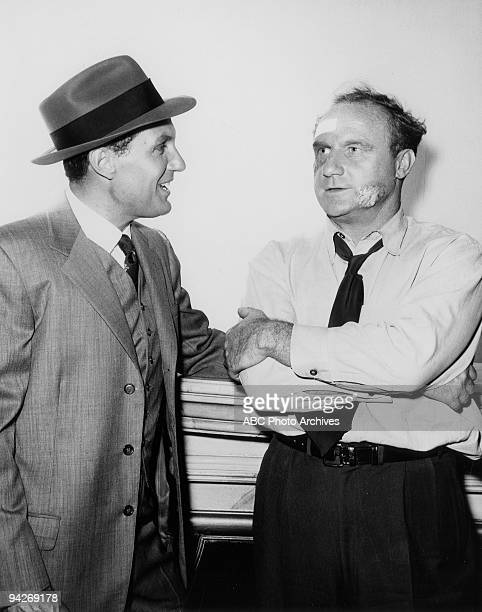 THE UNTOUCHABLES Eliot Ness gets the support of Larry Holloran in his fight to break down the mod rule of labor unions in The George 'Bugs' Moran...