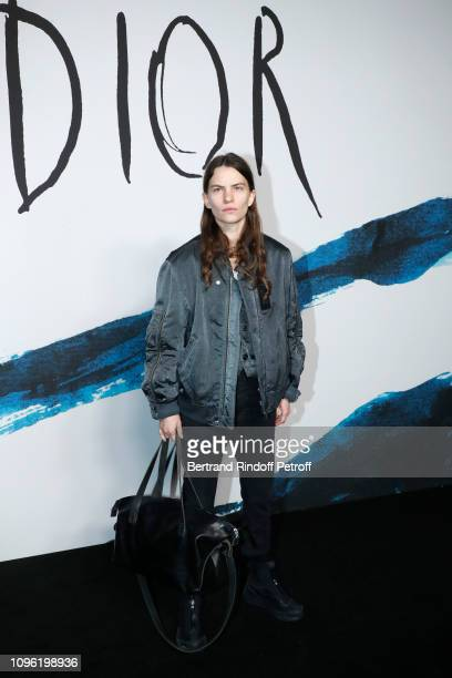 Eliot Sumner attends the Dior Homme Menswear Fall/Winter 2019-2020 show as part of Paris Fashion Week on January 18, 2019 in Paris, France.