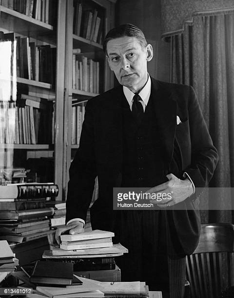 TS Eliot the poet and dramatist His work includes The Wasteland and Murder in the Cathedral