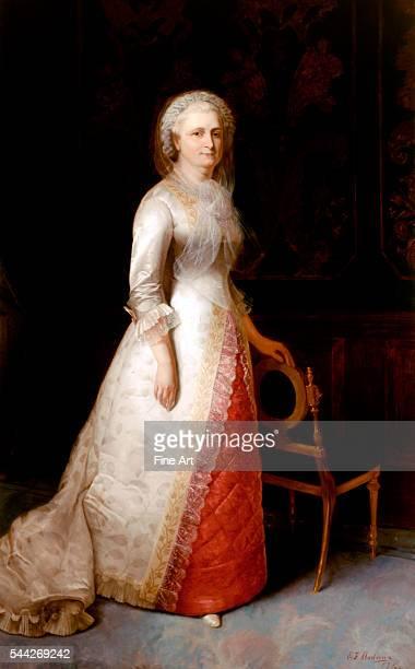 Eliphalet Frazer Andrews Martha Washington oil on canvas 2443 x 1521 cm The White House Collection Washington DC