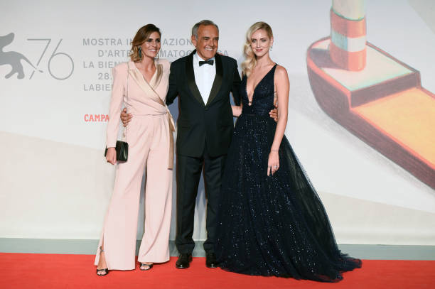 "ITA: ""Chiara Ferragni - Unposted"" Red Carpet Arrivals - The 76th Venice Film Festival"