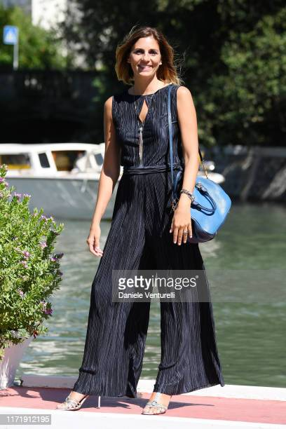 Elisa Amoruso is seen arriving at the 76th Venice Film Festival on September 03 2019 in Venice Italy