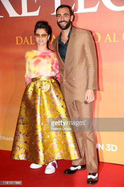"Elisa and Marco Mengoni attend ""Il Re Leone"" Photocall at The Space Cinema Moderno on July 12, 2019 in Rome, Italy."