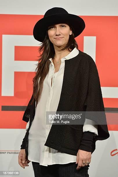 Elisa attends the 'L'Ultima Ruota Del Carro' Photocall during the 8th Rome Film Festival at the Auditorium Parco Della Musica on November 8 2013 in...