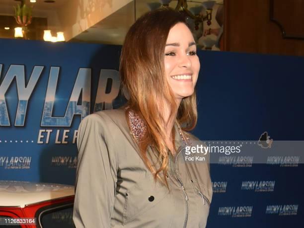 Elisa Bachir Bey attends Nicky Larson Et Le Parfum de Cupidon Premiere At Le Grand Rex on February 1 2019 in Paris France