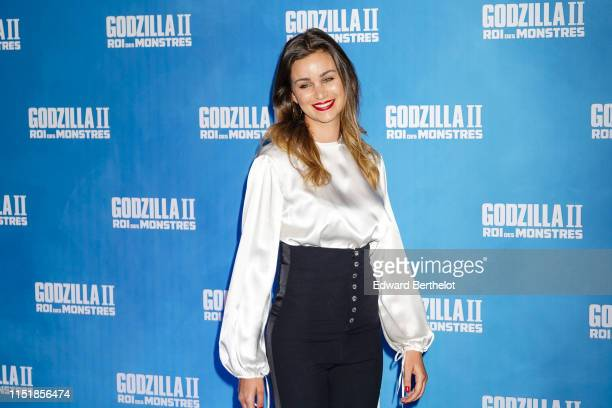 Elisa Bachir Bey attends the Godzilla II Roi des Monstres Premiere at Le Grand Rex on May 26 2019 in Paris France