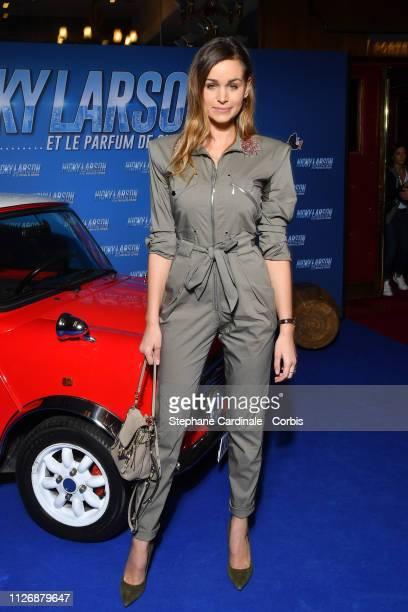 Elisa Bachir Bey attends The Nicky Larson Et Le Parfum De Cupidon Premiere February 01 2019 in Paris France