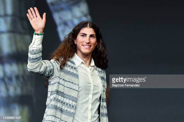 Elisa BALSAMO during the presentation of the Tour de France 2022 at Palais des Congres on October 14, 2021 in Paris, France.