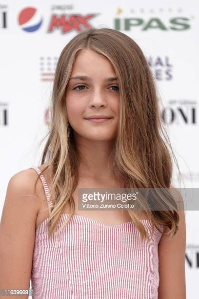 Elisa Del Genio attends Giffoni Film Festival 2019 on July 24 2019 in Giffoni Valle Piana Italy